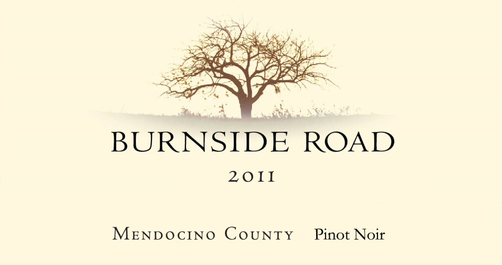 2011 Burnside Road - Mendocino County Pinot Noir
