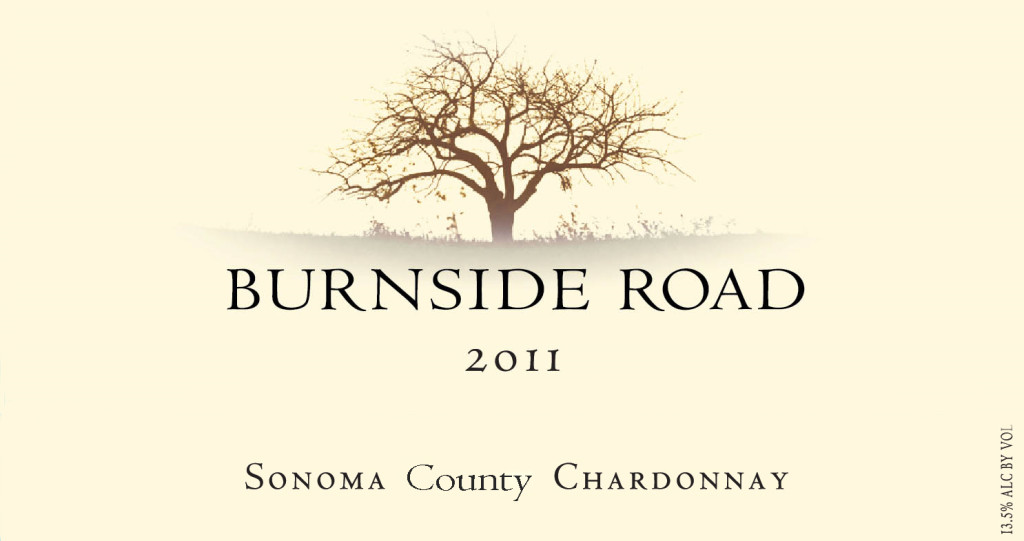 2011 Burnside Road - Sonoma County Chardonnay
